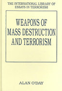 Weapons of Mass Destruction and Terrorism Book