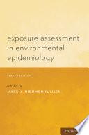 Exposure Assessment in Environmental Epidemiology