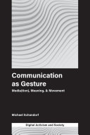 Communication as Gesture [Pdf/ePub] eBook