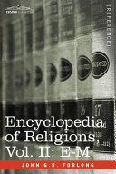 Encyclopedia of Religions Pdf/ePub eBook