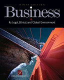 Business  Its Legal  Ethical  and Global Environment
