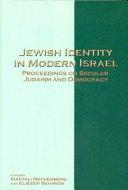 Jewish Identity in Modern Israel