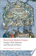 Three Early Modern Utopias Book