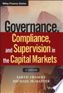 Governance, Compliance and Supervision in the Capital Markets, + Website