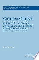 Carmen Christi Book Online