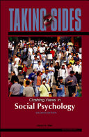 Pdf Taking Sides: Clashing Views in Social Psychology