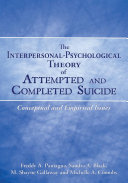 The Interpersonal Psychological Theory of Attempted and Completed Suicide
