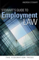 Cover of Stewart's Guide to Employment Law