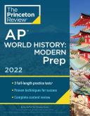 Princeton Review AP World History  Modern Prep 2022
