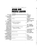 Asian and Pacific Labour Book