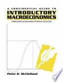 A Confidential Guide to Introductory Macroeconomics