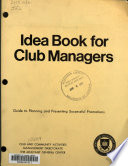 Idea Book For Club Managers