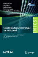 Smart Objects and Technologies for Social Good [Pdf/ePub] eBook