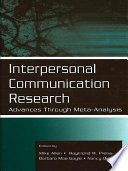 Interpersonal Communication Research Book PDF