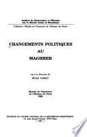 Changements politiques au Maghreb