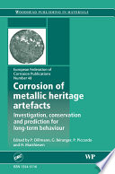 Corrosion Of Metallic Heritage Artefacts Book PDF