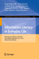 Information Literacy in Everyday Life
