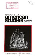 Midcontinent American Studies Journal