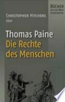 Christopher Hitchens über Thomas Paine, Die Rechte des Menschen