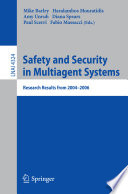 Safety and Security in Multiagent Systems.epub