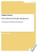 Intercultural Knowledge Management