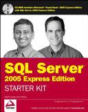 Pdf Wrox's SQL Server 2005 Express Edition Starter Kit