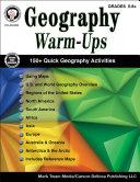 Geography Warm-Ups, Grades 5 - 8