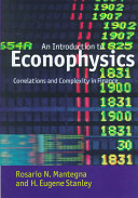 Introduction to Econophysics Book