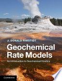 Geochemical Rate Models