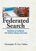 Federated Search ebook