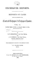 The Exchequer Reports