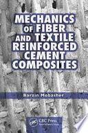 Mechanics of Fiber and Textile Reinforced Cement Composites Book