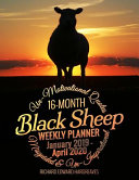 Black Sheep 16 Month 2019-2020 Weekly Planner