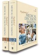Encyclopedia of Medical Decision Making