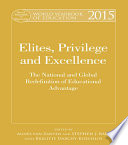 World Yearbook Of Education 2015