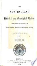 The New England Historical   Genealogical Register