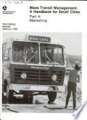 Mass Transit Management  Marketing