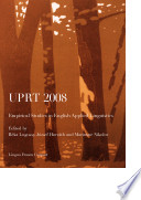 Uprt 2008 Empirical Studies In English Applied Linguistics