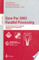 Euro Par 2003 Parallel Processing