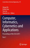 Computer  Informatics  Cybernetics and Applications