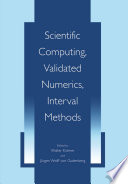 Scientific Computing  Validated Numerics  Interval Methods Book