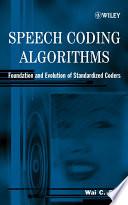 Speech Coding Algorithms Book