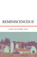 Reminiscences Ii