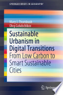 Sustainable Urbanism in Digital Transitions Book