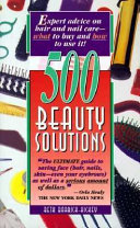 Five Hundred Beauty Solutions Book