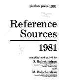 Reference Sources  1981