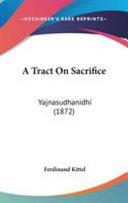 A Tract On Sacrifice