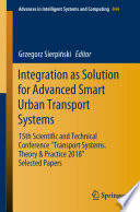 Integration as Solution for Advanced Smart Urban Transport Systems
