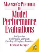 Manager's Portfolio of Model Performance Evaluations