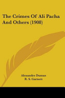 Free Download The Crimes of Ali Pacha and Others (1908) Book
